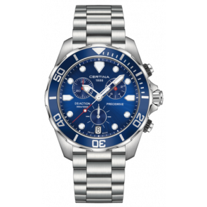 Certina bracelet de montre C032.417.11.041.00 / C605019661 Métal Acier inoxydable