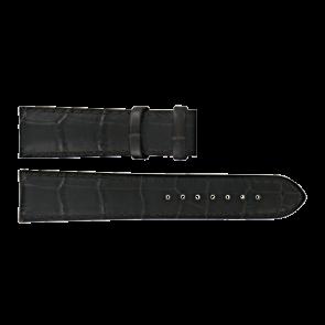 Certina bracelet de montre C610015781 Cuir Brun foncé 21mm + coutures brunes