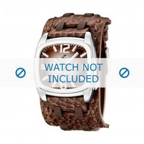 Calypso bracelet de montre K5224/2 Cuir Brun 26mm