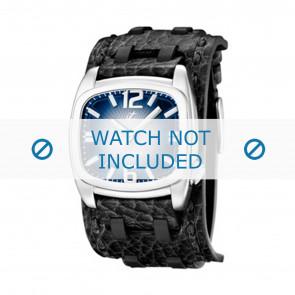 Calypso bracelet de montre  K5224/3 Cuir Noir 26mm