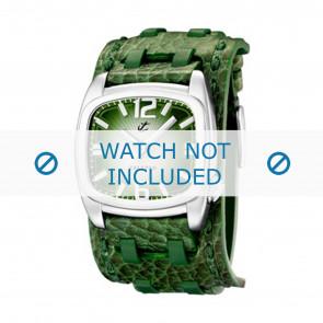 Calypso bracelet de montre K5224/4 Cuir Vert 26mm