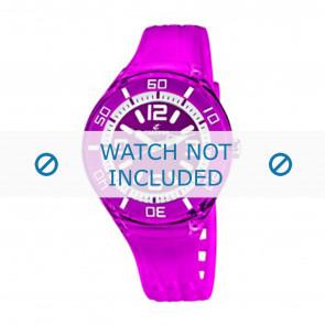 Calypso bracelet de montre K5588/6  Plastique Pourpre