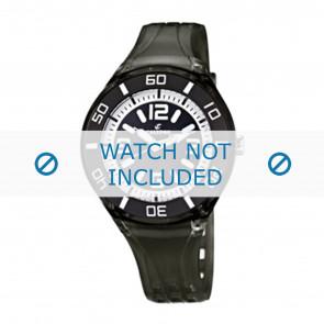 Calypso bracelet de montre K5588/8  Plastique Noir