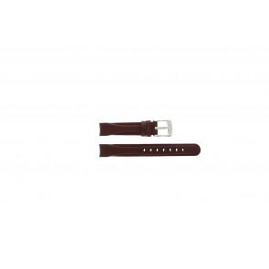 Camel bracelet de montre 4000-4009 Cuir Rouge 14mm