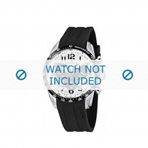 Candino bracelet de montre C4472-1 / C4472-2 / C4472-3 / C4472-4 Plastique Noir 22mm