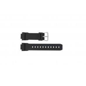 Casio bracelet de montre DW-004C-1VST / DW-9051-DW-9052 / 71606395 Plastique Noir 16mm