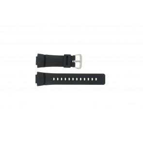 Casio bracelet de montre G-100-1BV Silicone Noir 16mm