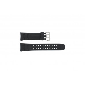 Casio bracelet de montre G-7400-1V En caoutchouc Noir 16mm