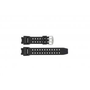 Casio bracelet de montre GW-9110-1D En caoutchouc Noir 16mm