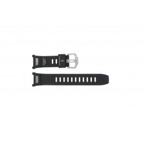 Casio bracelet de montre PAW-1500-1VV En caoutchouc Noir 16mm