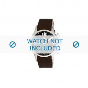 Dolce & Gabbana bracelet de montre 2519774184 Cuir Brun foncé