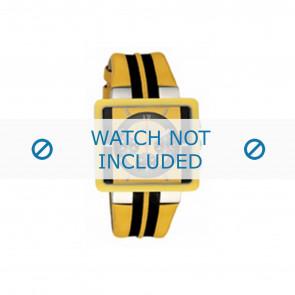 Dolce & Gabbana bracelet de montre DW0063 Cuir Jaune
