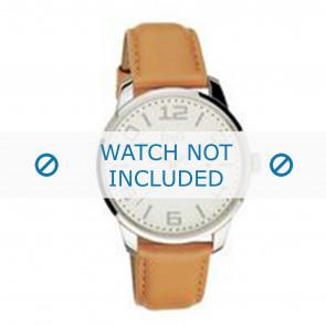Dolce & Gabbana bracelet de montre 3719340281 Cuir Brun + coutures brunes