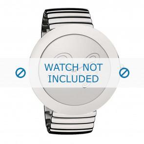 Dolce & Gabbana bracelet de montre DW0280 Métal Argent
