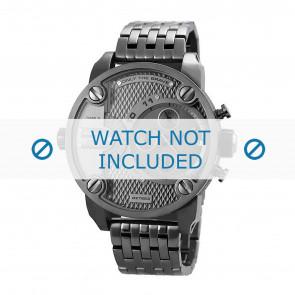 Diesel bracelet de montre DZ7263 Métal Gris anthracite 24mm
