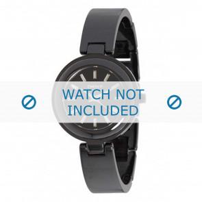 DKNY bracelet de montre NY8549 Céramique Noir