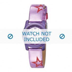 Esprit bracelet de montre ES000FA4-40PA / 000FA4038 / 000FA4 Cuir Pourpre