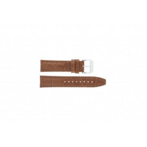 Festina bracelet de montre F16081/8 Cuir Brun 22mm + coutures brunes