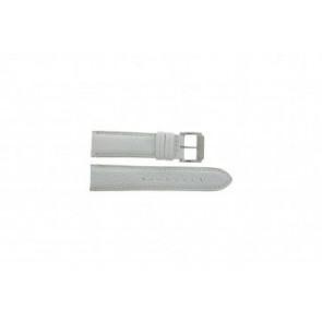 Festina bracelet de montre F16101/B Cuir Blanc 22mm