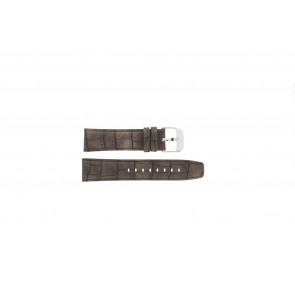 Festina bracelet de montre F16573/4 Cuir Brun 23mm + coutures brunes