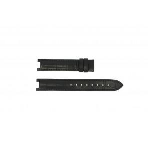 Guess bracelet de montre GC24001L2 / GC15000 Cuir Noir 16mm