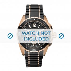 Guess bracelet de montre GC55000G Céramique Noir