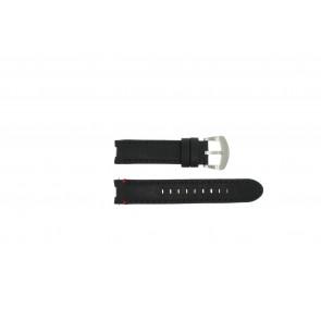 Buddha to Buddha bracelet de montre 39mm / BTB.F.R.CH.01 / BTB.F.R.CH.04 Cuir Noir 18mm + coutures noires