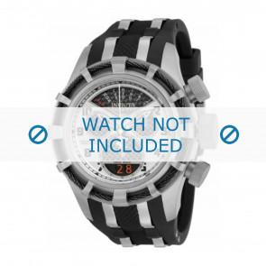 Invicta bracelet de montre 17464 Plastique Noir