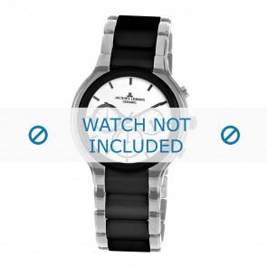 Jacques Lemans bracelet de montre 1-1580B Céramique Argent