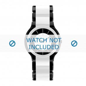 Jacques Lemans bracelet de montre 1-1582E Céramique Multicolore