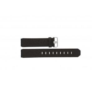 Jacob Jensen bracelet de montre 800 / 843 Cuir Brun 19mm
