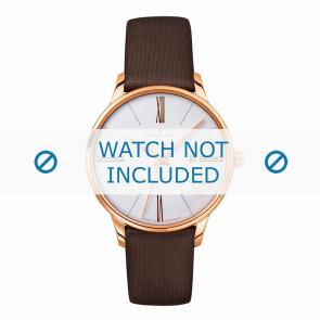 Junghans bracelet de montre 047/7571.00 Cuir Brun 14mm