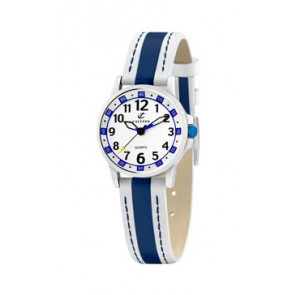 Bracelet de montre Calypso k5212-1 Cuir Bleu