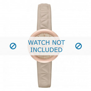 Karl Lagerfeld bracelet de montre KL1612 Cuir Beige
