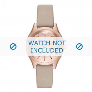 Karl Lagerfeld bracelet de montre KL1619 Cuir Beige