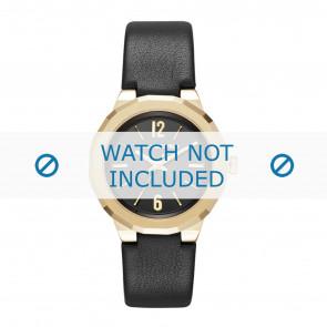 Karl Lagerfeld bracelet de montre KL3410 Cuir Noir