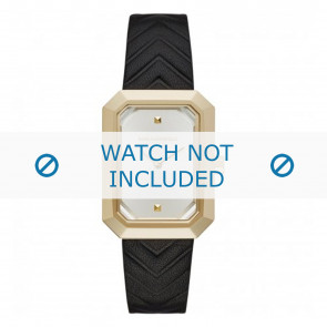 Karl Lagerfeld bracelet de montre KL6102 Cuir Noir