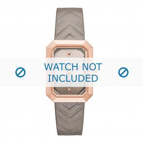 Karl Lagerfeld bracelet de montre KL6103 Cuir Beige