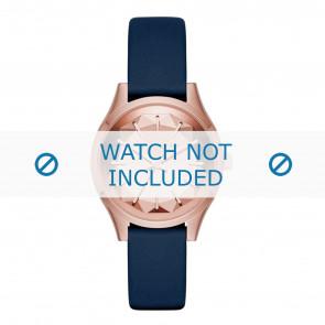 Karl Lagerfeld bracelet de montre KL1632 Cuir Bleu
