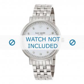 Kate Spade New York bracelet de montre 1YRU0820 / MONTEREY Métal Argent