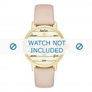 Kate Spade New York bracelet de montre KSW1059 / METRO Cuir Rose