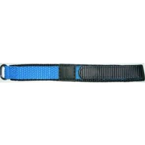 Velcro 20mm bleu clair