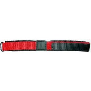 Velcro 20mm rouge