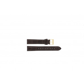 Lorus bracelet de montre VX32-X383 Cuir Brun 18mm