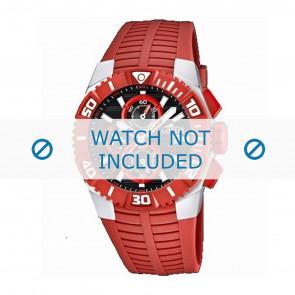 Lotus style bracelet de montre 15778.2 Plastique Rouge