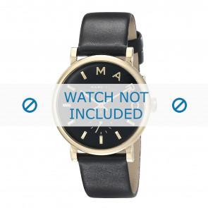 Marc by Marc Jacobs bracelet de montre MBM1269 Cuir Noir 19mm