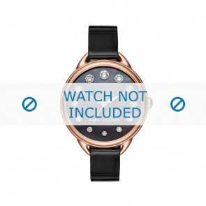 Marc by Marc Jacobs bracelet de montre MJ1511 Cuir Noir 12mm