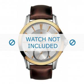 Maurice Lacroix bracelet de montre  PT7518-PS101-130 Cuir Brun + coutures brunes