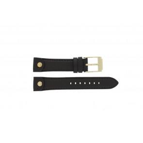 Michael Kors bracelet de montre MK-2166 Cuir Brun 18mm