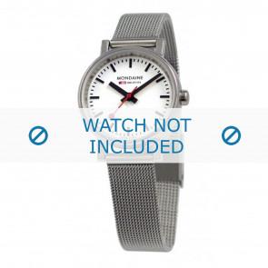 Mondaine bracelet de montre A658.30301.11SBV / BM20037 / 30301 / EVO 26 Métal Argent 12mm